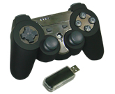 PS3 2.4GHz wireless vibration gamepad