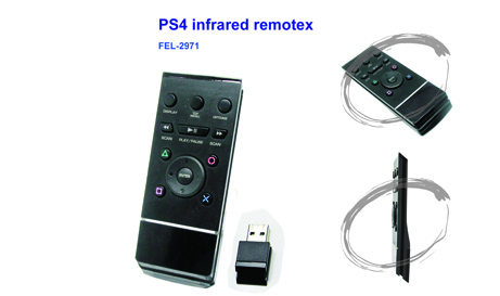 PS4 infrared remote