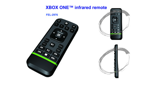 infrared remote for XBOX One