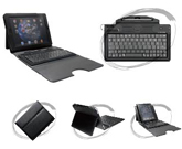 Plastics BT Keyboard with Leather Case for iPad