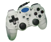 PC/USB 2.4GHz dual shock wirless controller