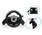 3-in-1 Wireless Racing Wheel PS3/PS2/USB